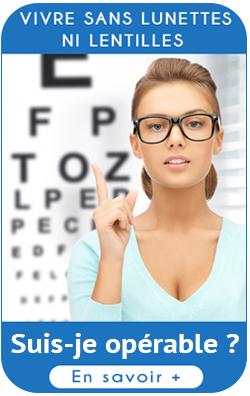 vivre sans lunettes ni lentille